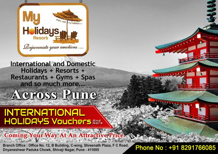 Make your Dream with exciting My Holiday Vouchers...  Only for Pune...  Call Now - 08291766085  #voucher #mypune #gym #bodytherapy #hairstyles #haircut #hairdresssalon #fitness #fitnessmotivation #thaispa #bodybuilding #games #lonavala #gethealthy #myholidays #mydeals #panchgani #bangkok #thailand #singapore #malaysia #resort