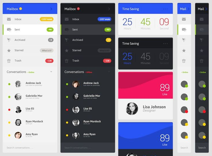 12 Mobile User Interface PSD Design For Designers