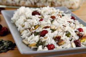 Pilaf de arroz con frutos secos - MisThermorecetas