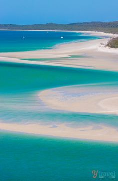 Bucket list item for Australia - set foot on the amazing Whitehaven Beach in The Whitsunday Islands, Queensland