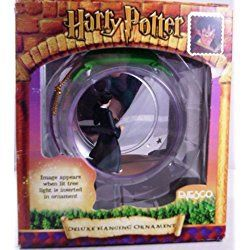 Harry Potter Lighted Deluxe Hanging Ball Ornament, Sneaking Along the Corridors