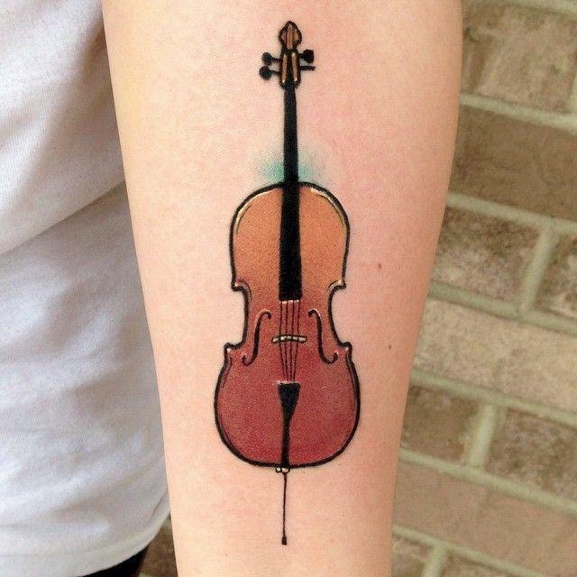 Best 25+ Violin Tattoo Ideas On Pinterest