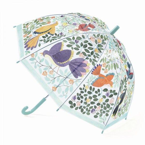 Djeco Kinderschirm Vögel & Blüten - auf Rechnung bestellen, Bonuspunkte sammeln & DHL Blitzlieferung!