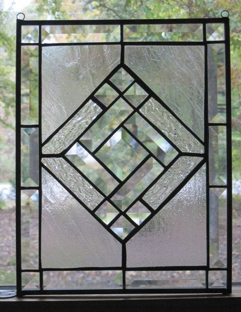 Clear Leaded Glass : Best clear glass panels images on pinterest beveled