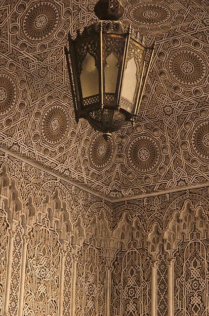 Best Stucco In The Islamic World Images On Pinterest - Carved wood lace like lighting design inspired islamic decoration patterns