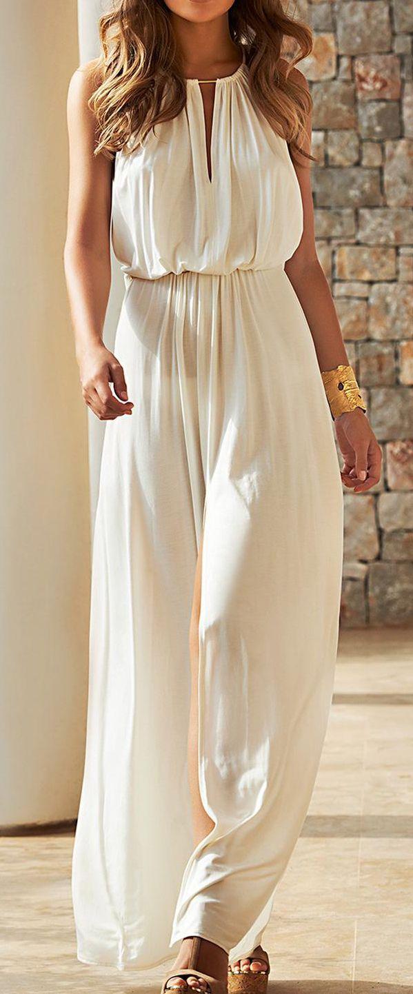 Cream Goddess Maxi // buy here here and here