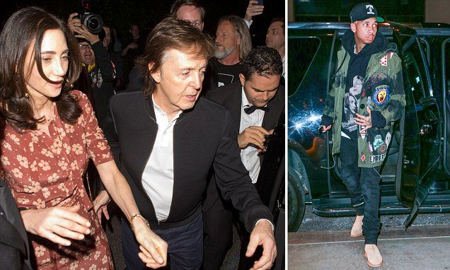 Paul McCartney is turned away at Tyga's Grammy after-party
