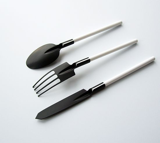 Cutlery design – clever and funny at the same time. #cutlery #knife #clever
