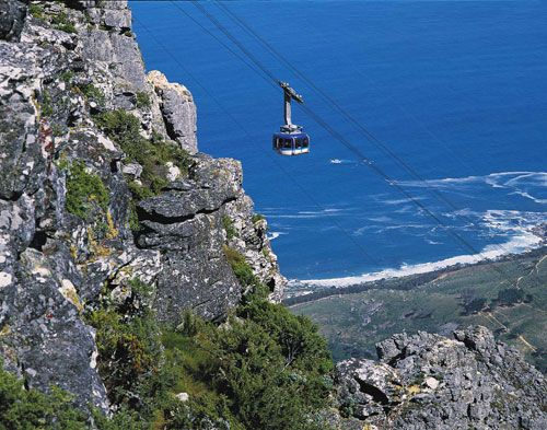 Cliff-hanging with the cable car