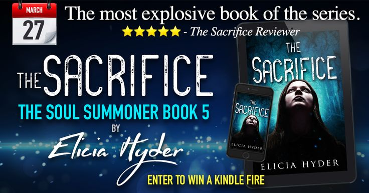 Enter for a chance to win a Kindle Fire from @EliciaHyder