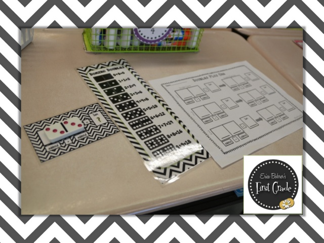 Erica Bohrer's First Grade: Doubles Plus One & Domino Math Centers