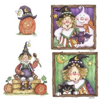 Tutoriales Marlangel: Brujitas y Fantasmitas (Halloween)