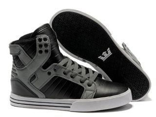 Now Buy Top Deals Supra Skytop Black Grey Men's Shoes Save Up From Outlet  Store at Pumafenty.