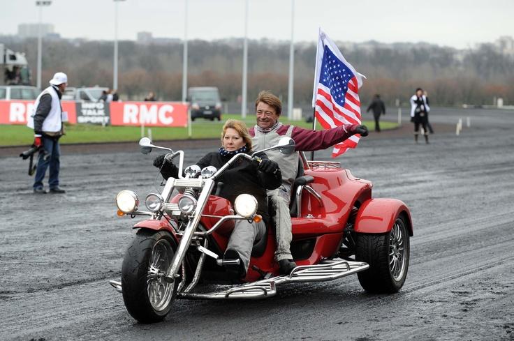 Franck Nivard, plus rapide à moto que sur Ready Cash ?