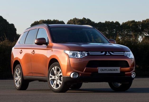 Mitsubishi Outlander 3rd generation and 1st I might actually like