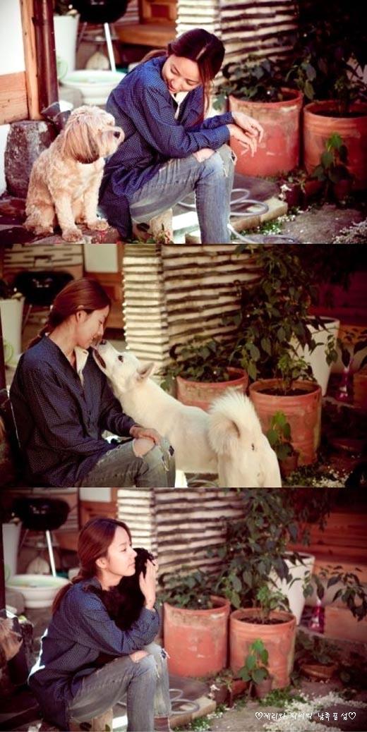 이효리&강아지