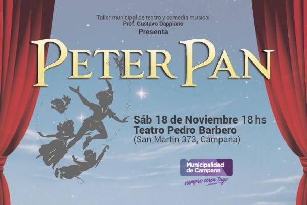 """Últimos días para retirar las entradas gratuitas para """"Peter Pan"""" y """"Varieté Show"""""""