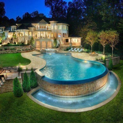 Dream House Backyard Pool