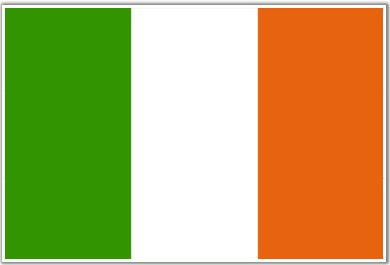 Bandera de Irlanda (#Flag of #Ireland)