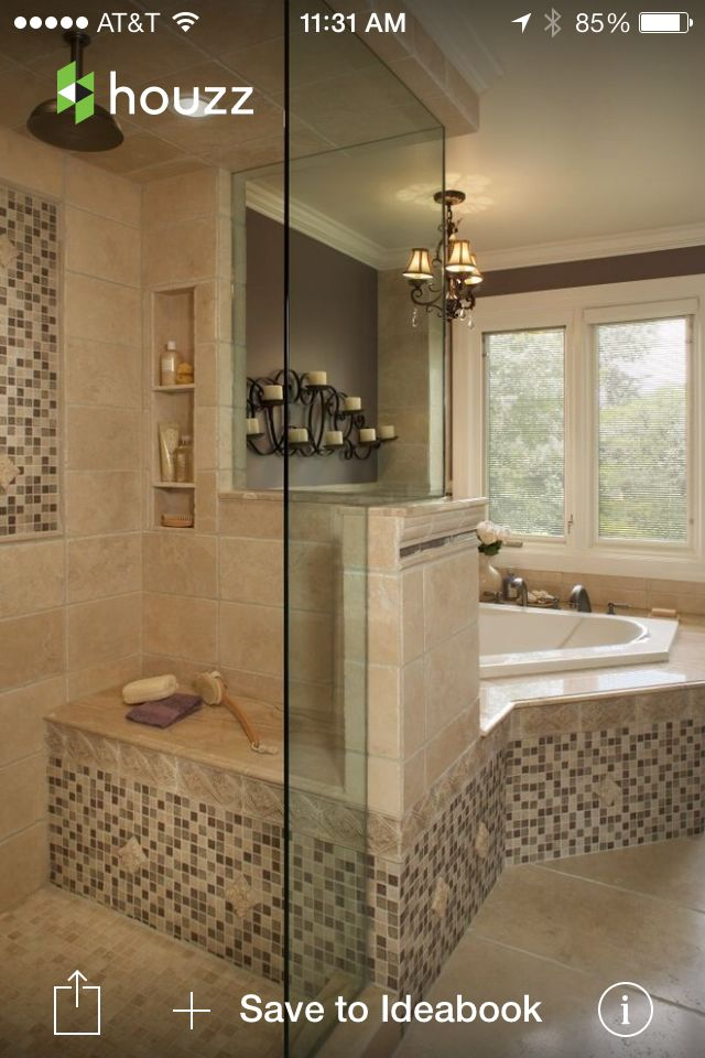 Tile accents, not necessary this exact style but some tile accents.