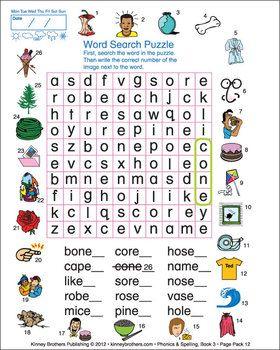 ESL PHONICS & SPELLING, BOOK 3 - Phonics & Spelling, Book 3, drills ...