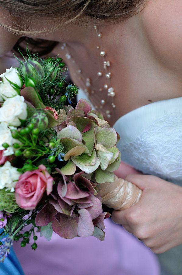 wedding flower bunch