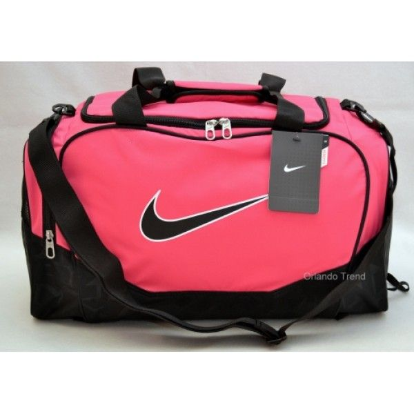 Nike Brasilia 5 Small Pink Duffel Bag For Gym Travel Or School 38 00 At Orlandotrend Bags Pinterest And