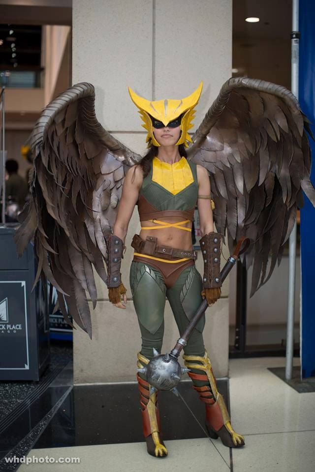 Hawkgirl Injustice Cosplay images