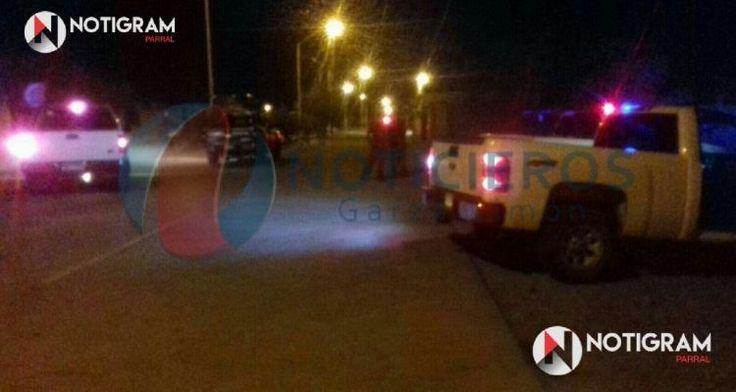 <p>Santa Bárbara.- Varios sujetos a bordo de una camioneta y fuertemente armados balean a dos hombres en la calle principal en el poblado de punto alegre,