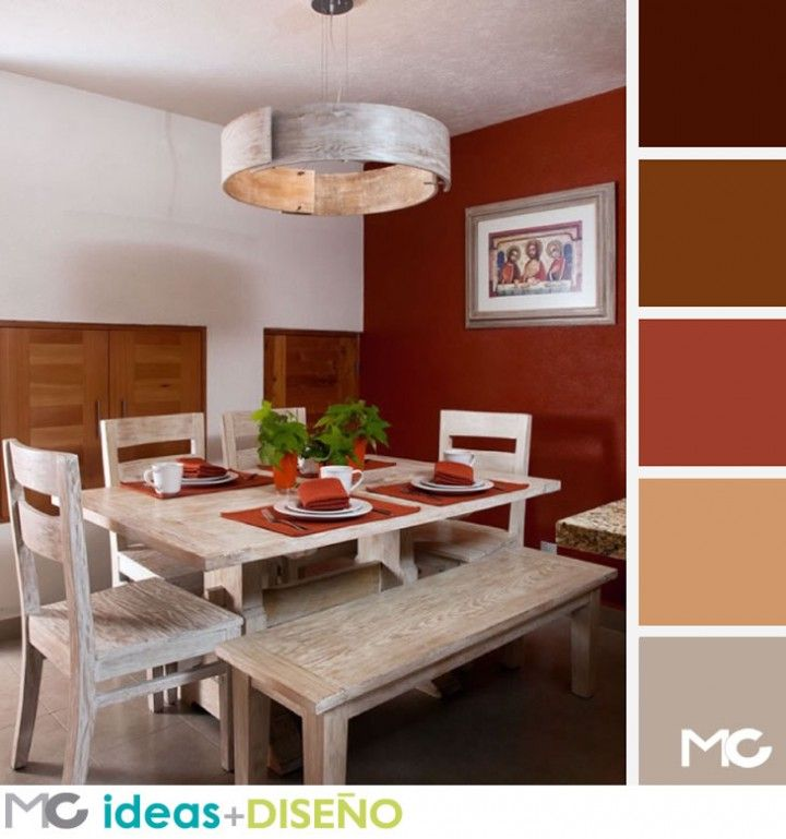 Ideas de desayunadores colores interiorismo residencial for Color de pintura de cocina