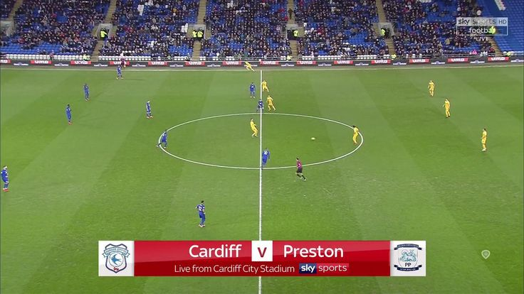 goals EFL Championship 17/18 - Cardiff City vs. Preston North End - 29/12/2017 Full Match