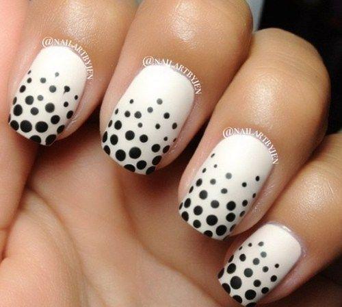 Fab polka dot nails and nail art inspirations | Fashionte