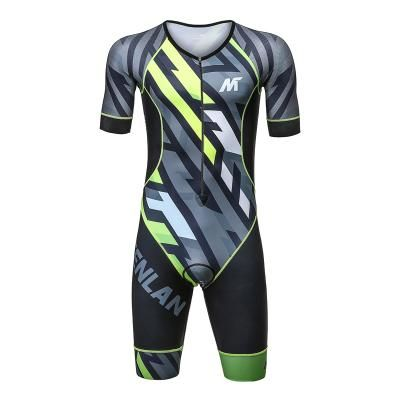 Mysenlan Men's Short Sleeve Tri suit,all use Italian Materials Supply Custom service Contact: sherry@mysenlan.com