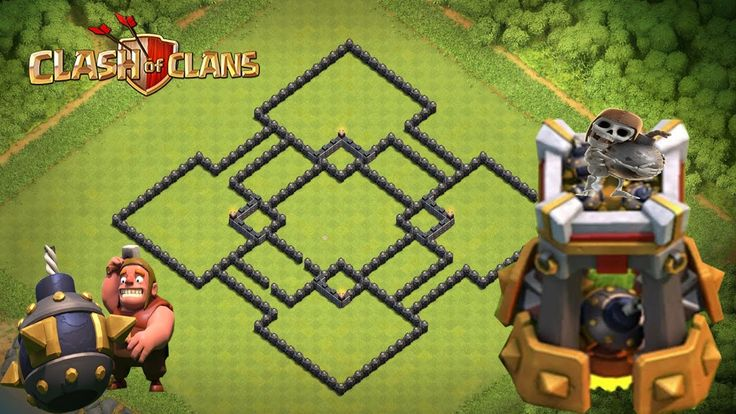 """Clash Of Clans - BOMB TOWER!!  Epic TH9 WAR Base With Bomb Tower 2016! """"NEW UPDATE"""""""