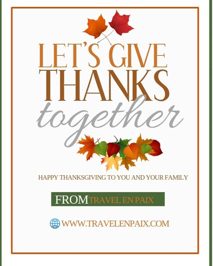 Happy Thanksgiving And Good Tidings To You All Thanksgiving Thankful Thanks Family Love Together Togethernes In 2020 Happy Thanksgiving Travel Book Thankful