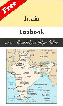 Homeschool Helper Online's India Lapbook- also there is a lapbook for China on this page.