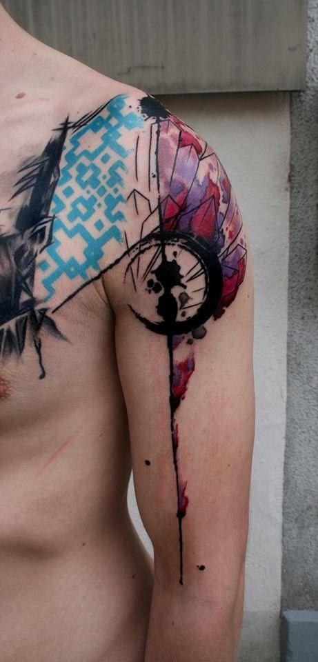 155 best xoil tattoos images on pinterest xoil tattoos for Arm mural tattoos
