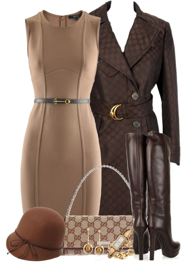 """Everything but the hat"" by madamedeveria on Polyvore"