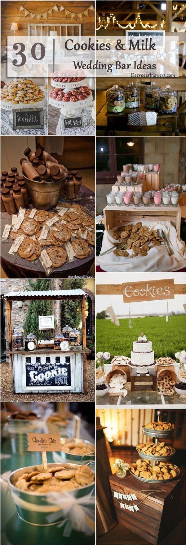 rustic country cookies smores bar /  / http://www.deerpearlflowers.com/wedding-smore-cookies-milk-bar-ideas/