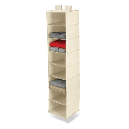 Honey Can Do Eight Shelf Hanging Organizer In Natural (Set Of 2)