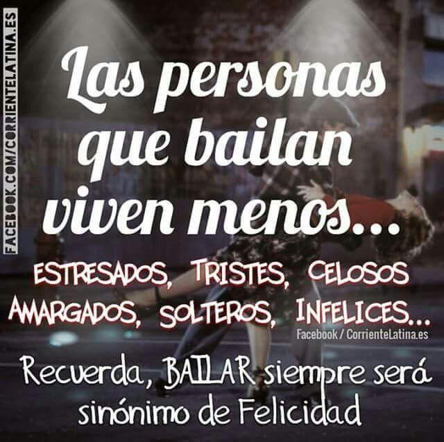 Las personas que #bailan viven menos...   Síguenos en  https://Facebook.com/CorrienteLatina.es