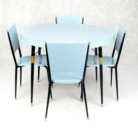 mesa de formica linda, dos anos 50. estudiogloria.com.br
