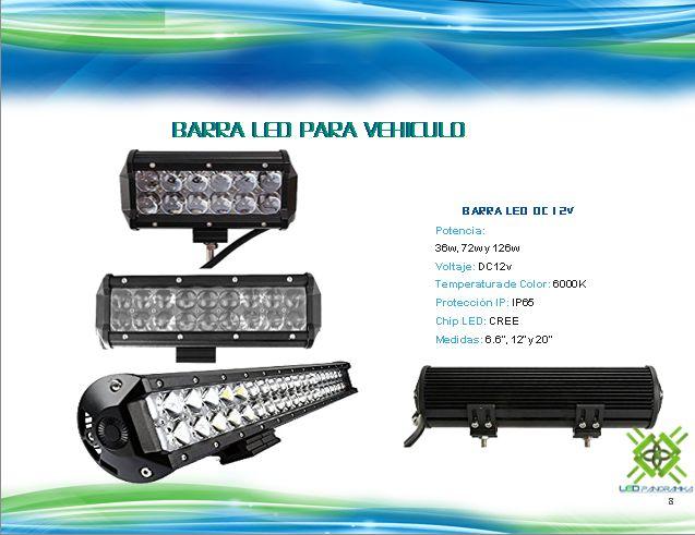 Barra LED para Vehiculo