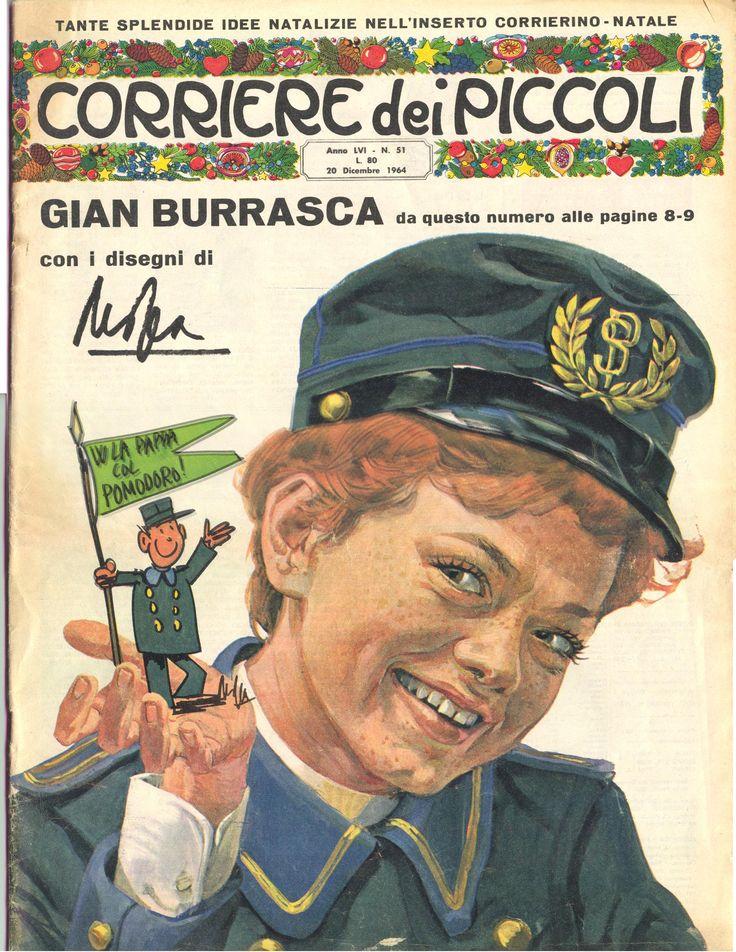 Rita Pavone = Gian Burrasca (giornale Corriere dei Piccoli 1964)