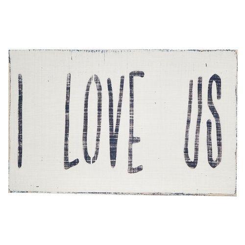 I love us.