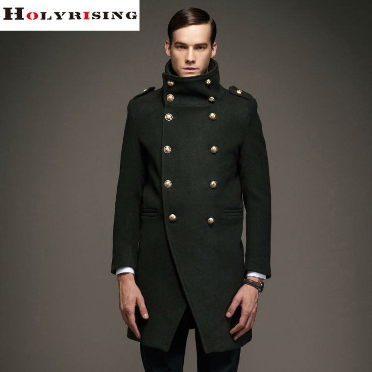Brand Fashion New Winter Men's Wool Coat Long Slim Fit Comfortable Men Jacket Overcoat Mens Jackets And Coats Trench Coat-in Wool & Blends from Men's Clothing & Accessories on Aliexpress.com   Alibaba Group