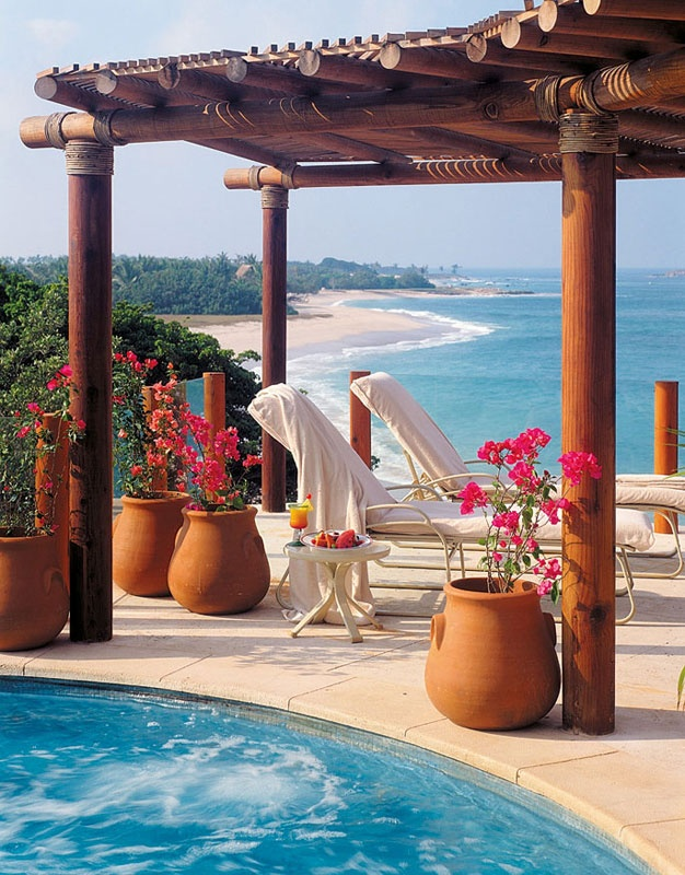 Four Seasons Punta Mita 1st trip Mother Daughters trip Jan 2010