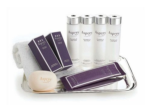 Asprey !!  My favourite toiletries - but can only afford travel size!  :-(.
