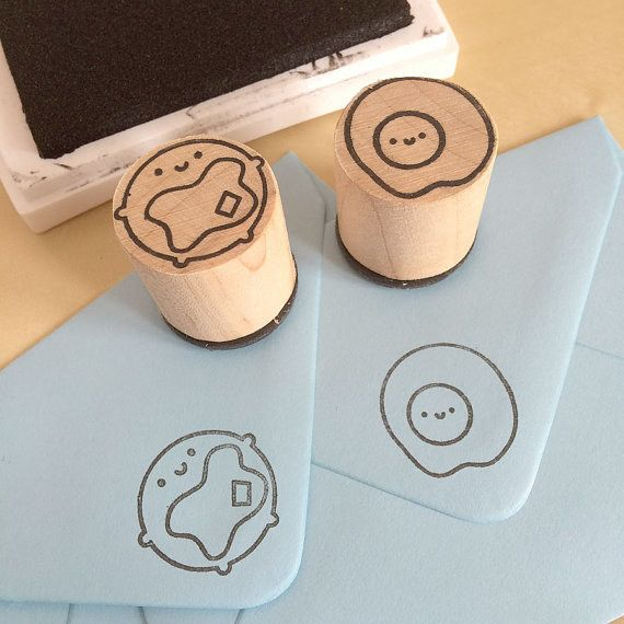 These stamps that'll let them leave their breakfast mark on everything. | 34 Delicious-Looking Gifts For People Who Love Pancakes