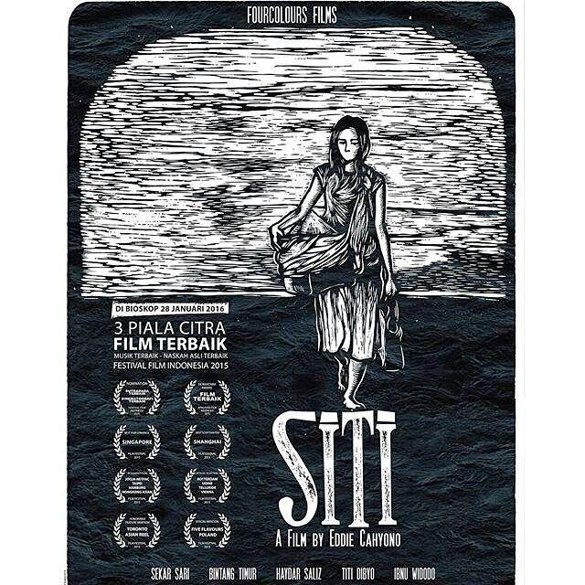 [Media Partner]     Coming soon.. SITI on Cinema XXI and 21 Cineplex. Siti adalah film independen Indonesia yg memenangkan beberapa penghargaan  salah satunya sbg film terbaik dalam Festival Film Indonesia 2015. Di bioskop mulai 28 Januari 2016.  Info: @fourcoloursfilm  #FilmSITI #SITI #SITIdiBioskop #FilmIndonesia #SupportFilmIndonesia #IfaIsfansyah #EddieCahyono #Yogjakarta #Januari2016 #sitiincinema #filmindonesia  #banggafilmindonesia #supportfilmindonesia